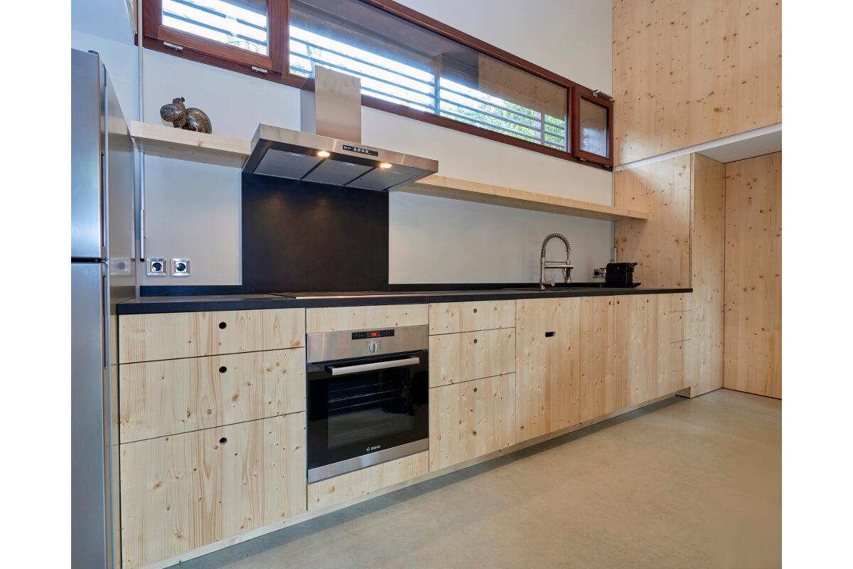touton architectes - cuisines - cuisine lugue - cap ferret