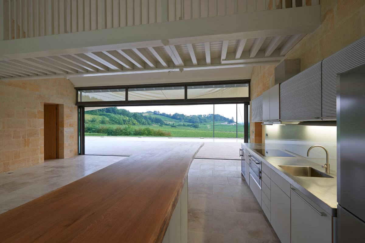 touton architectes - cuisines - cuisine picoron
