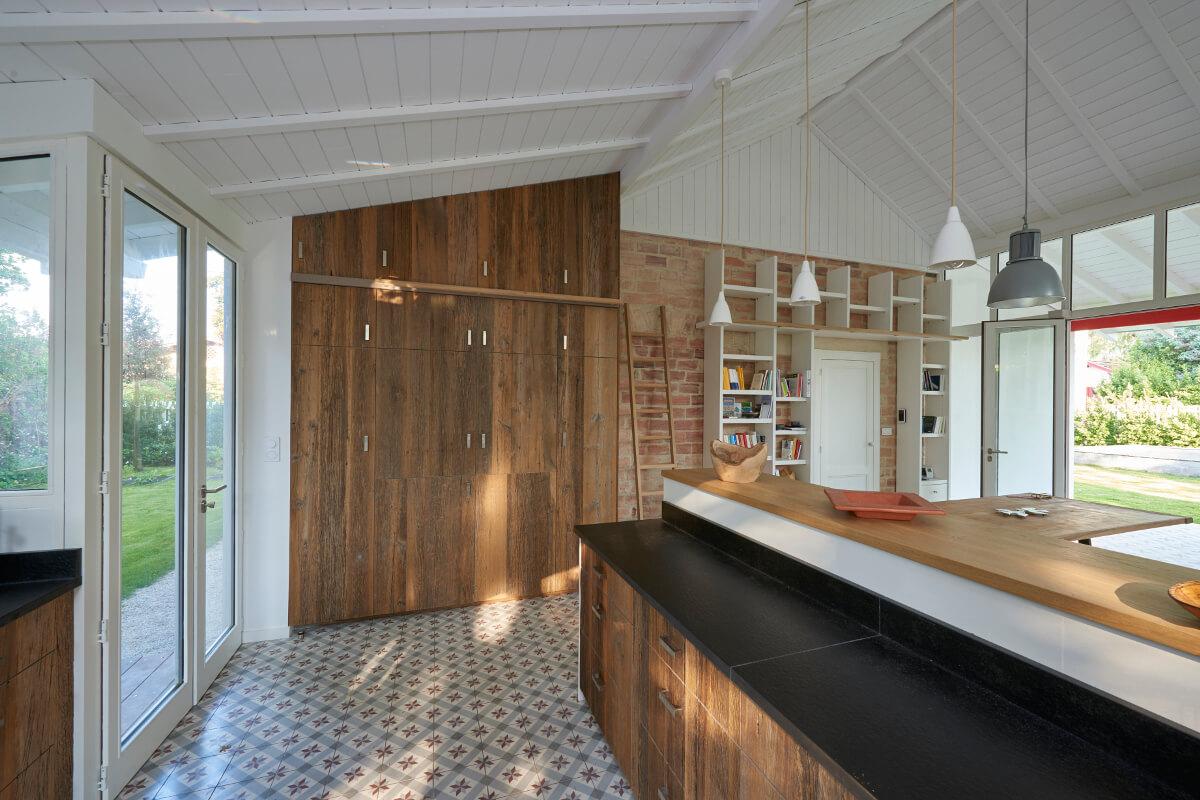 touton architectes - cuisines - cuisine - saint henri