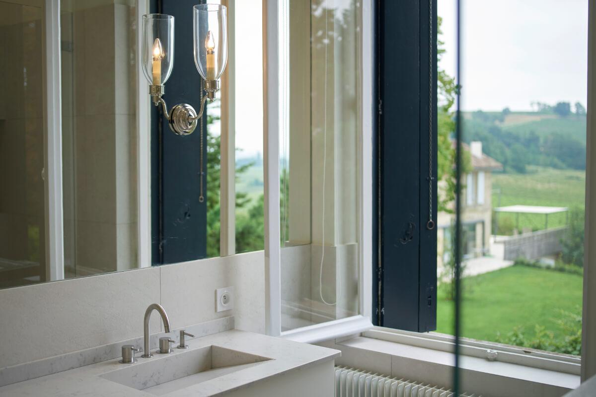 touton architectes - patrimoine - picoron - salle de bain