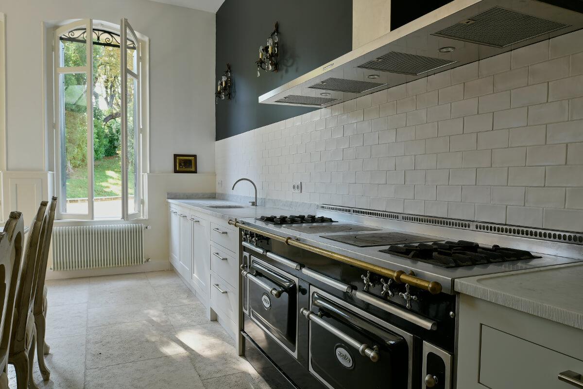 touton architectes - patrimoine - picoron - cuisine - sur mesure