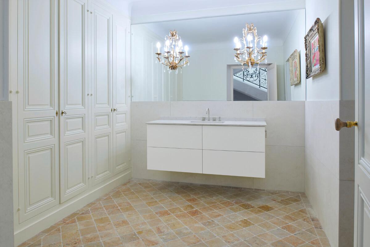 touton architectes - patrimoine - picoron - salle de bains