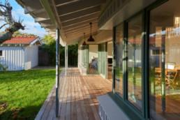 touton architectes - villa - taussat - terrasse - bassin