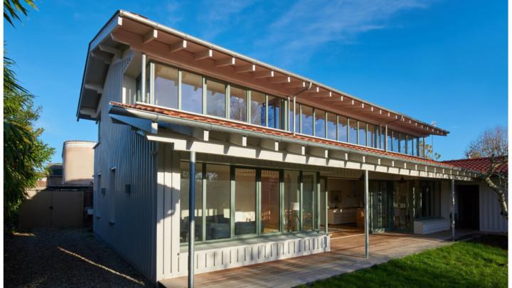 touton architectes - villa - bois - bassin