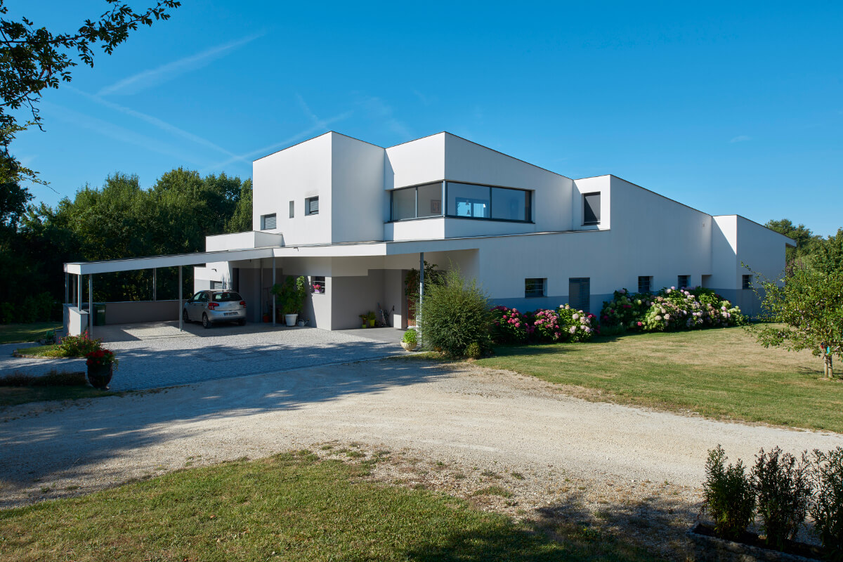 touton architectes - maison - contemporaine - volume