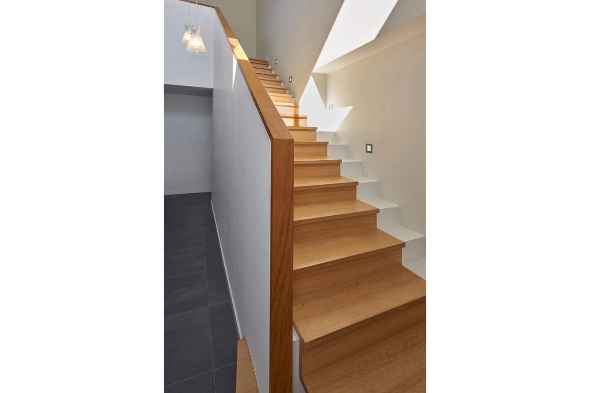touton architectes - maison - contemporaine - escalier