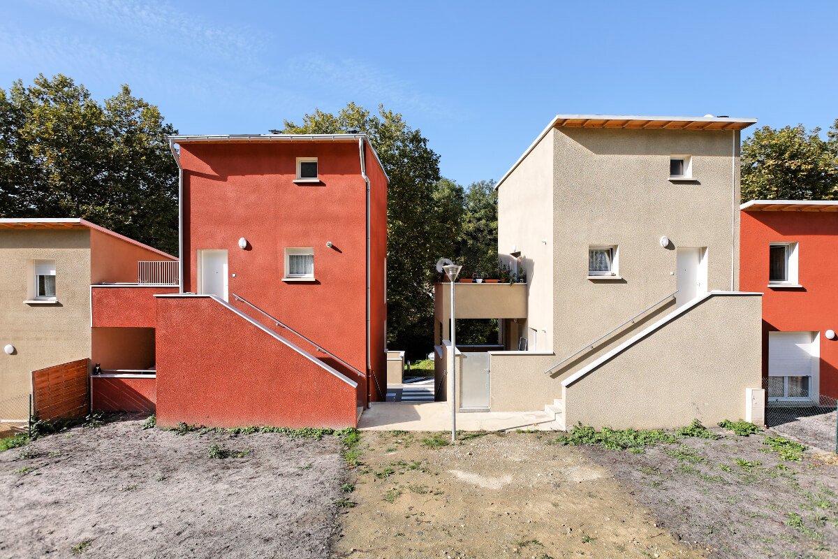 touton architectes - logement collectif - cambes