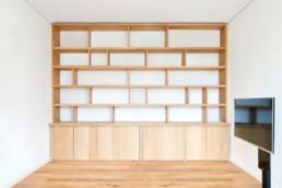 touton architectes - sylves - bordeaux - mobilier - rénovation - sur mesure - appartement