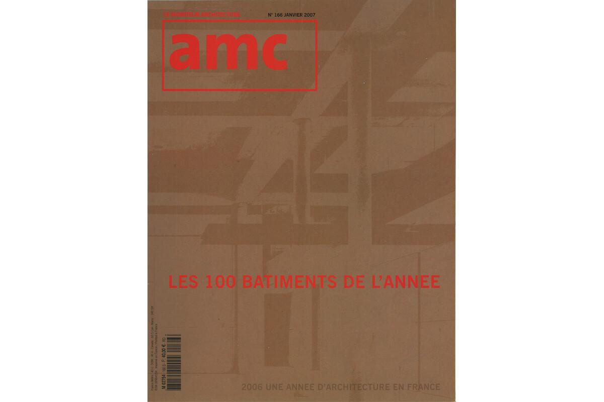 touton architectes - tondu - logement collectif - publication - AMC - le moniteur