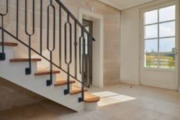 touton architectes - patrimoine - paquillon - escalier sur mesure